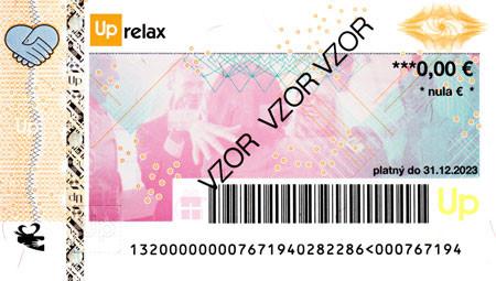 Poukážka na relax UpRelax 2022
