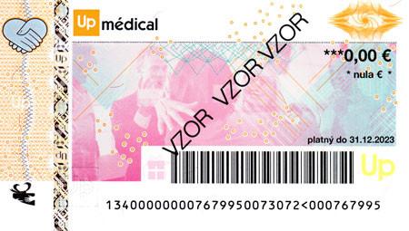 Zdravotná poukážka UpMédical 2022